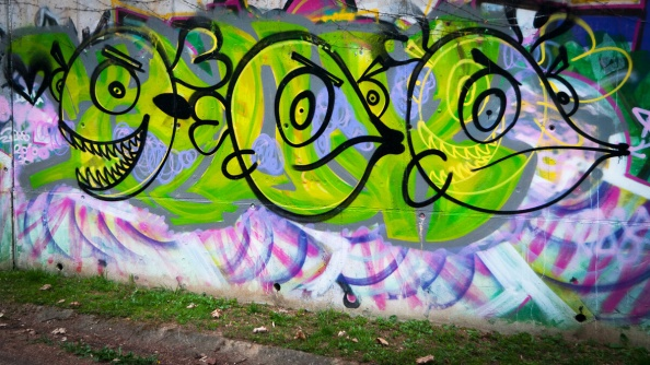 Graffileti aneb Jak jsem potkal ryby