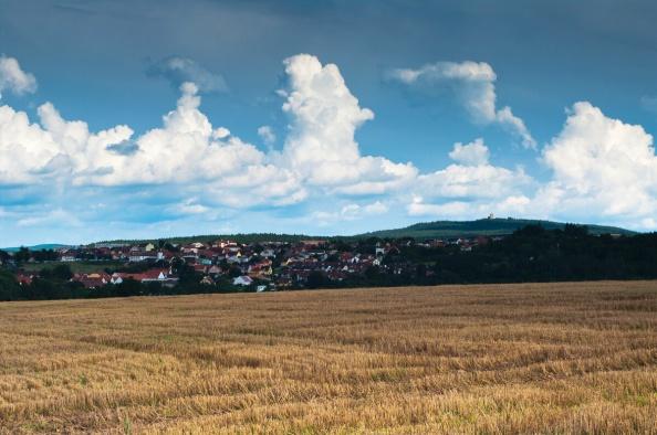 Strniště, Radobyčice, Radyně a mraky taky