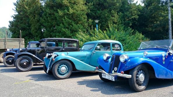 Auta stará, stále krásná