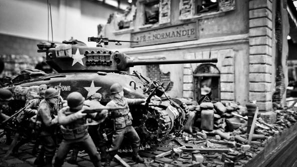 Bitva o kavárnu či Normandii?
