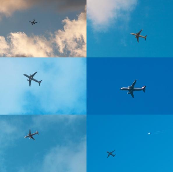 Letadlo za letadlem